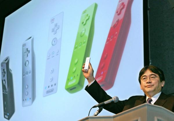 Satoru Iwata debuts the Wii