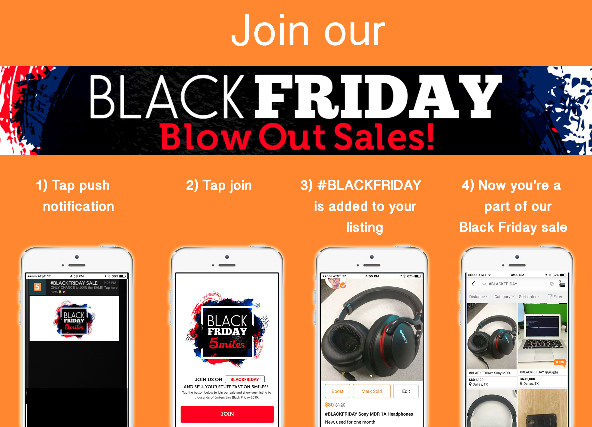 Make Money Have Your Own Black Friday Sale On 5miles