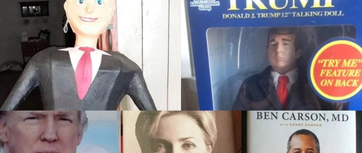 Vote for ___! Who knew 5miles had candidate memorabilia galore?