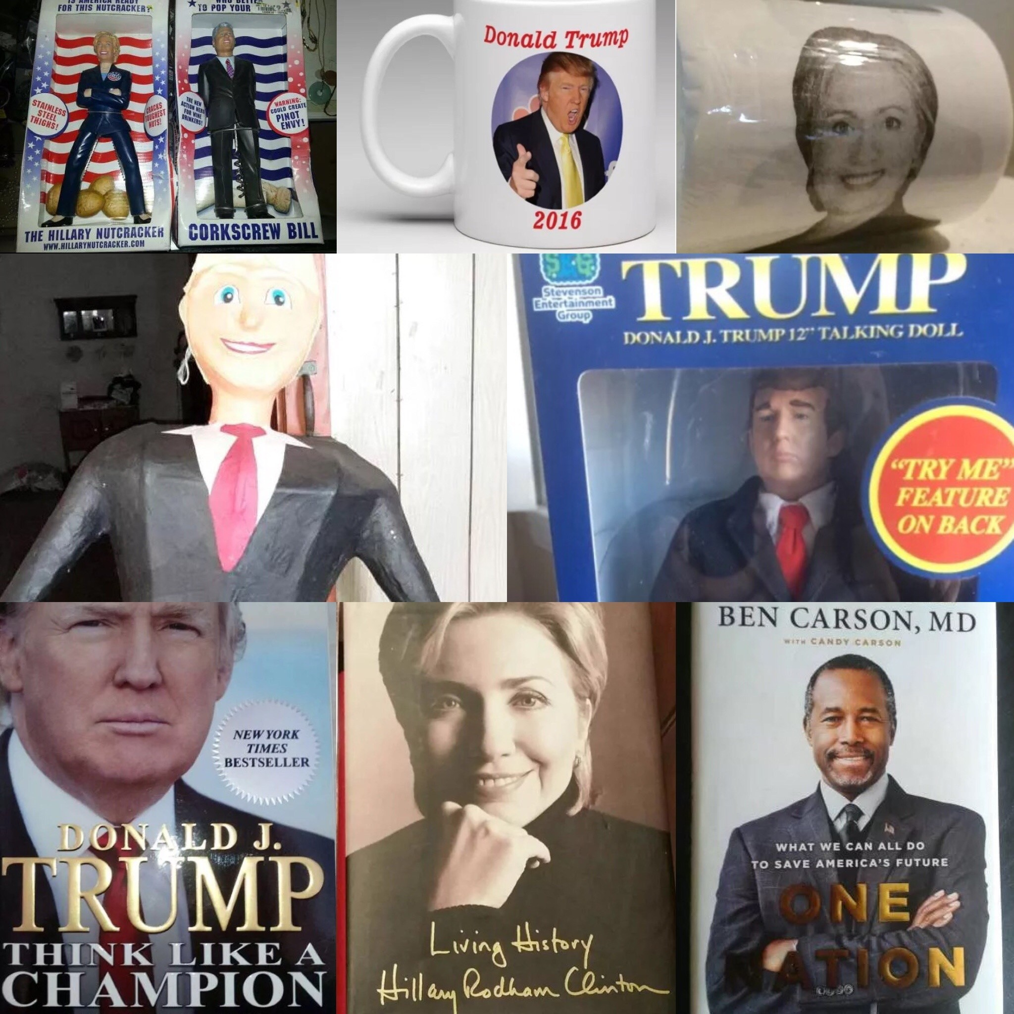 Open Season: Carson, and Clinton, and Trump. Oh, my!