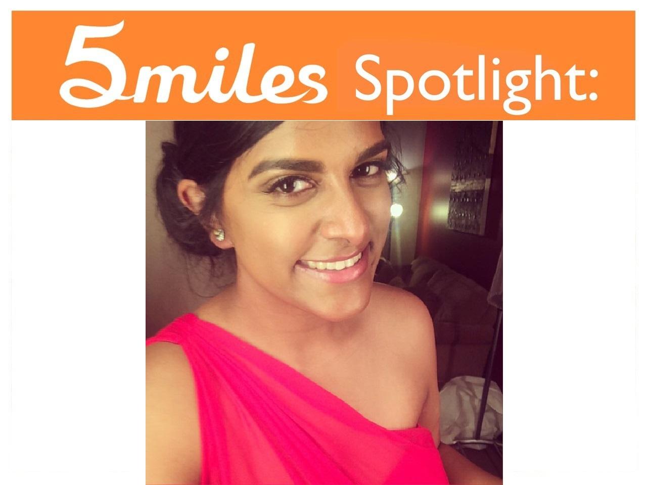 5miles Spotlight - Soniyaben Patel
