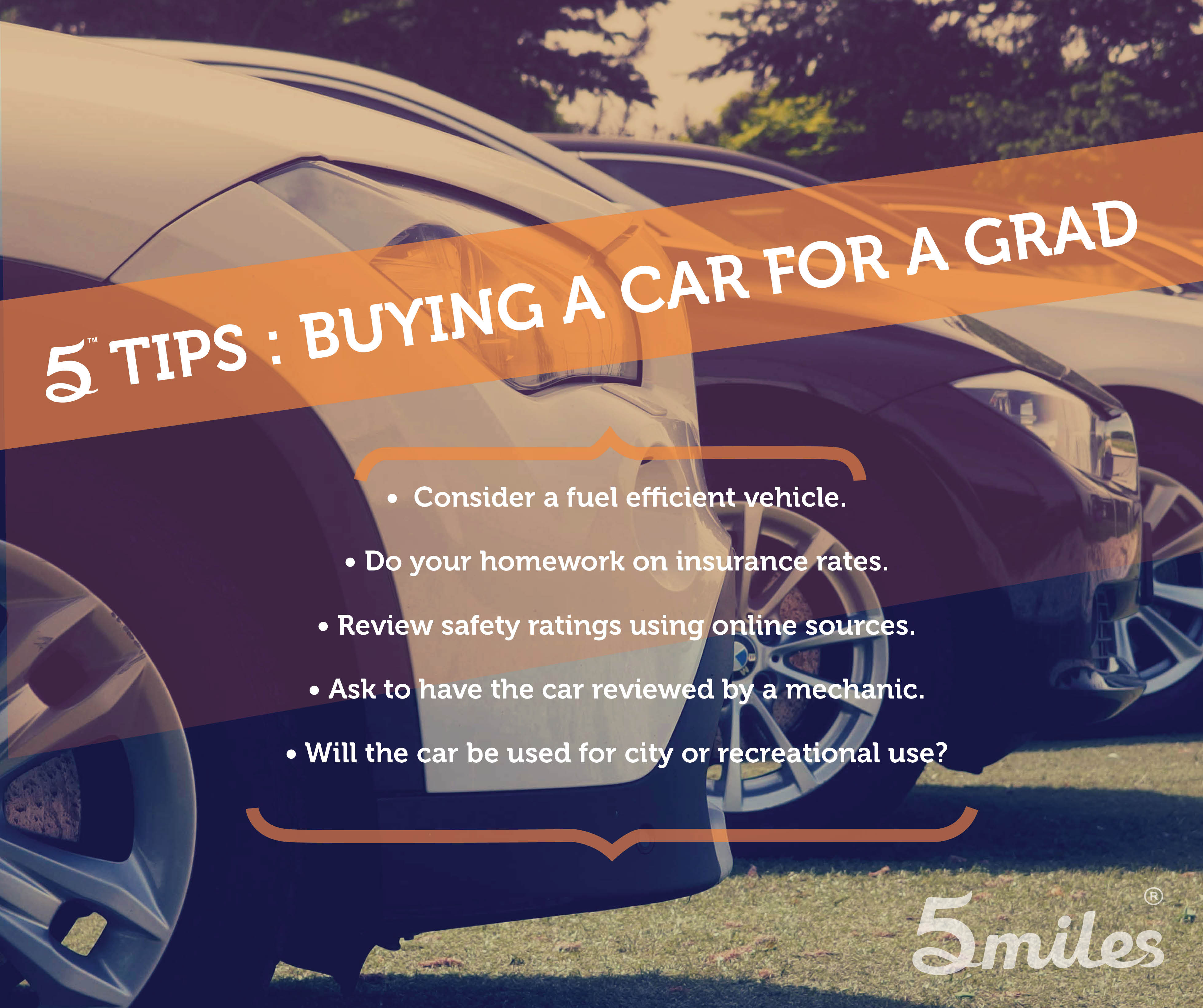 Tips for graduate car buying