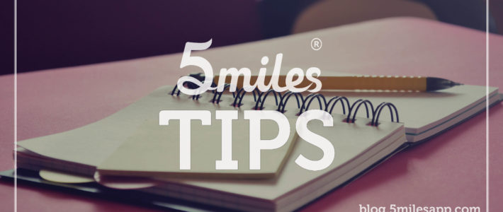 5miles Tips: Selling. Here's how you do it.