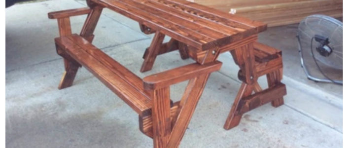5miles Finds Picnic Table