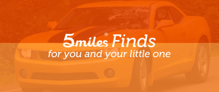 5miles Finds: A Chevy Camaro For You… and Your Little One!