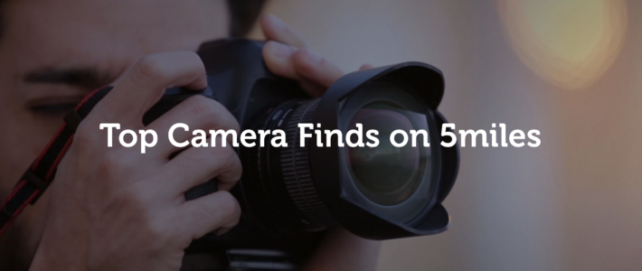 Top 3 Camera Finds on 5miles