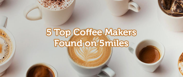 Make perfect coffee with these top 5 coffee makers!