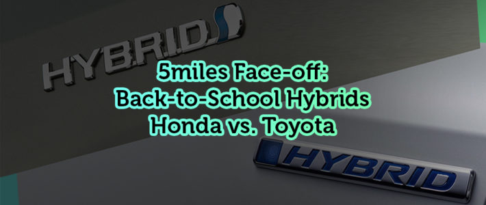 5miles Face-off: Back-to-School Hybrids – Honda Insight vs. Toyota Avalon