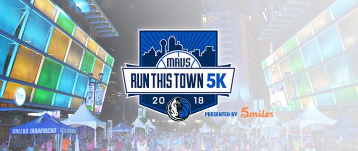 5miles Joins The Dallas Mavericks at Run This Town 5K 2018