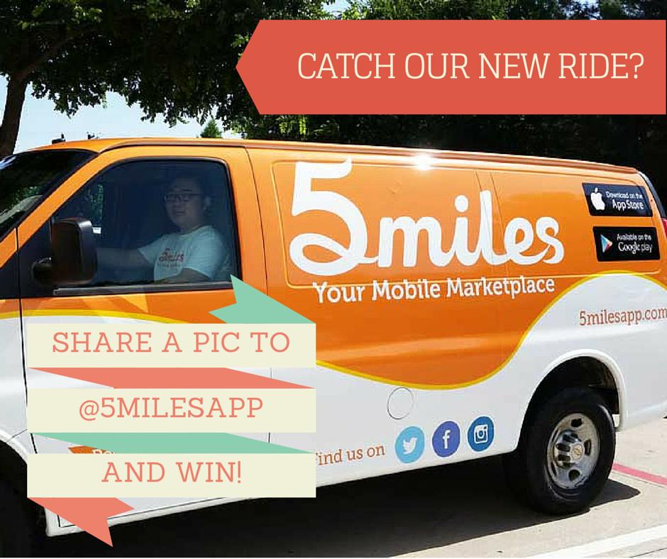 Catch us rollin' through your neighborhood? 5miles Van!