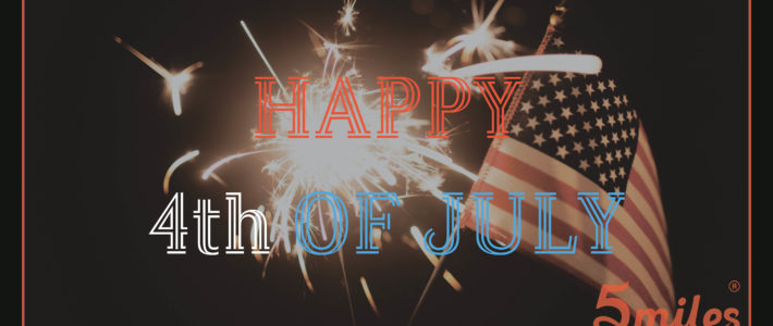 Great 4th of July sales on 5miles! Shop now!