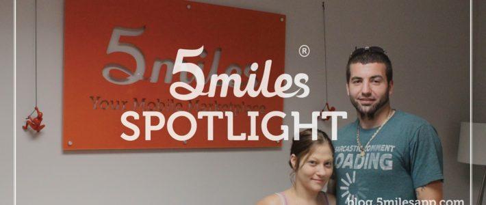 5miles Spotlight: Andrew Shipmen & Erica Ayles