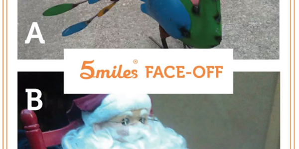 5miles Face-Off (Thanksgiving vs Christmas)