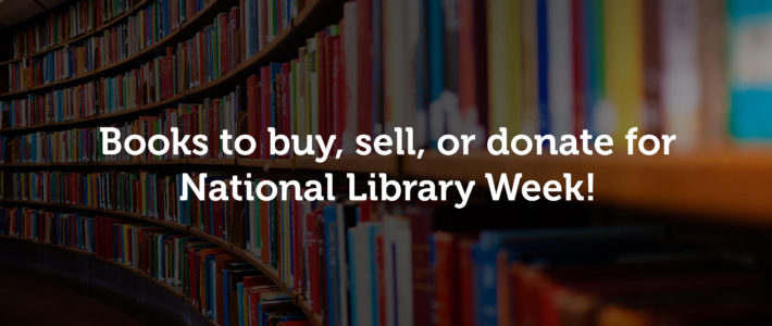 Books you can find on 5miles for National Library Week!