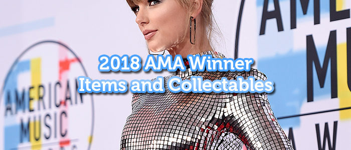 5 Winner Items From Last Nights AMA Ceremony