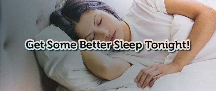 How to Get a Better Sleep Along With Products That May Help!