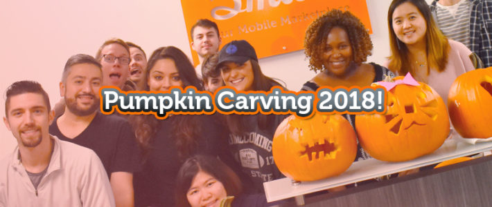 Carving Pumpkins With The 5miles Team!